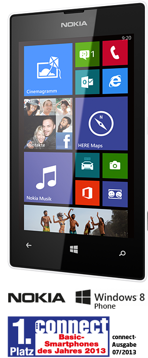 Smart-Phone NOKIA Lumia 520 | 199 €