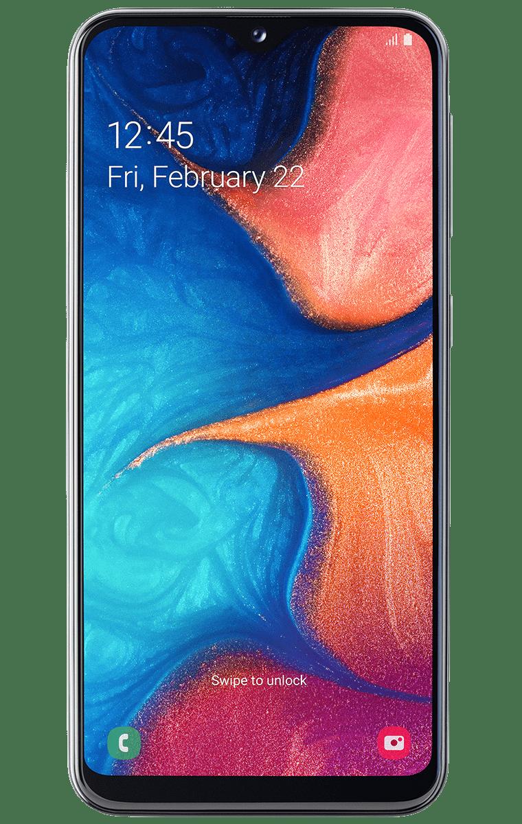 Samsung-Galaxy-A20e_Front_Black