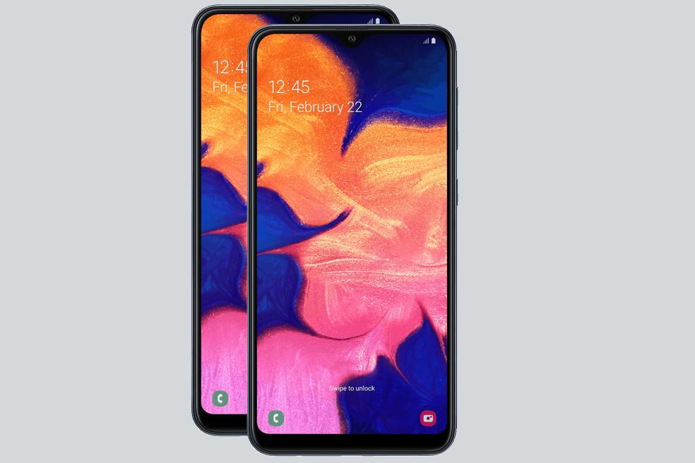 2xSamsung-Galaxy-A10_SM-A105F_Front_Black