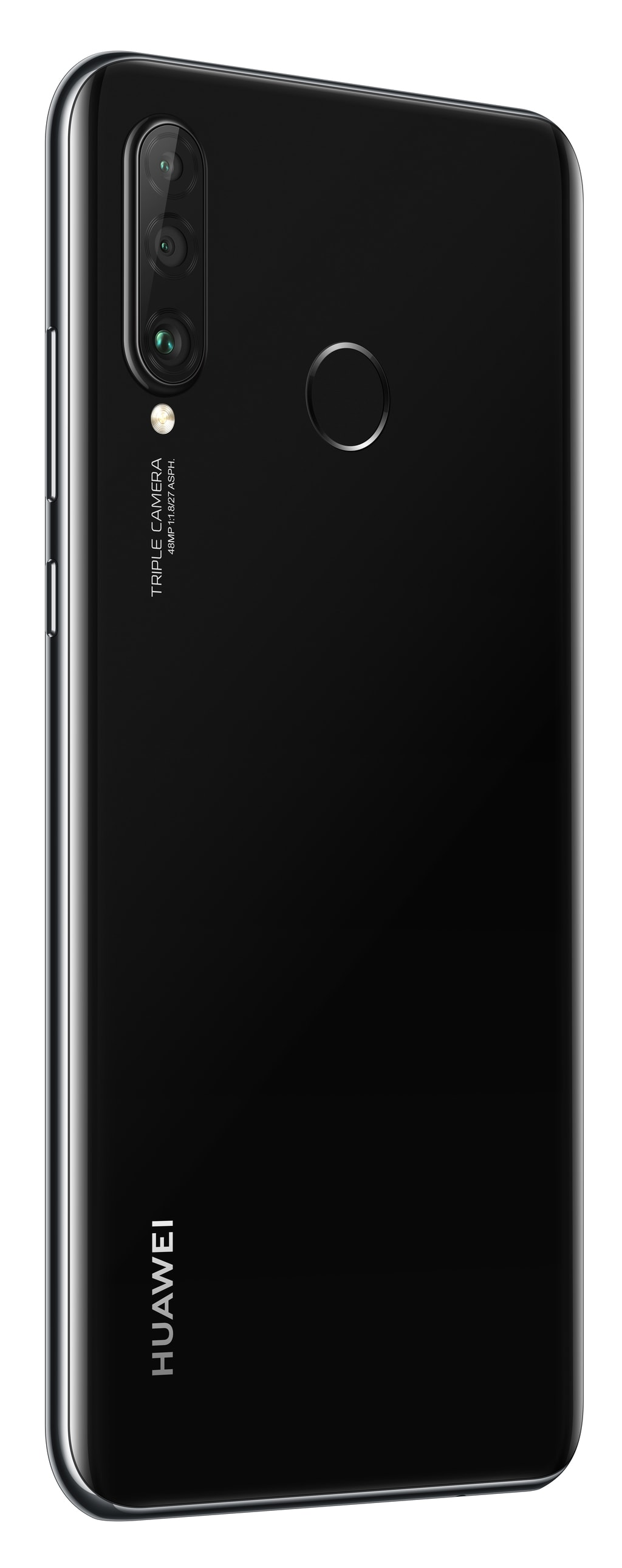 p30 lite black rear left