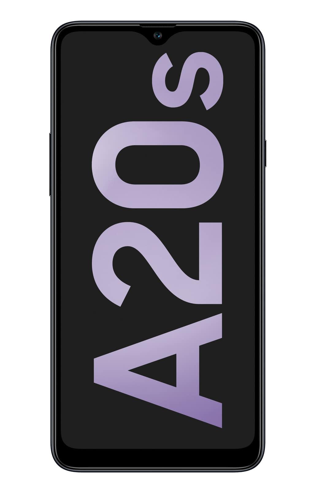 Samsung_Galaxy-A20s_SM-A207F_Black_Front_CMYK