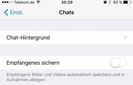 ios-whatsapp-einstellungen